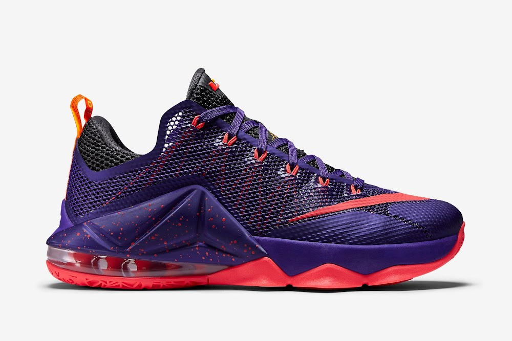 buy popular 5dc6e e5d6b ... Nike LeBron 12 Low Court Purple Drops Next Month ...