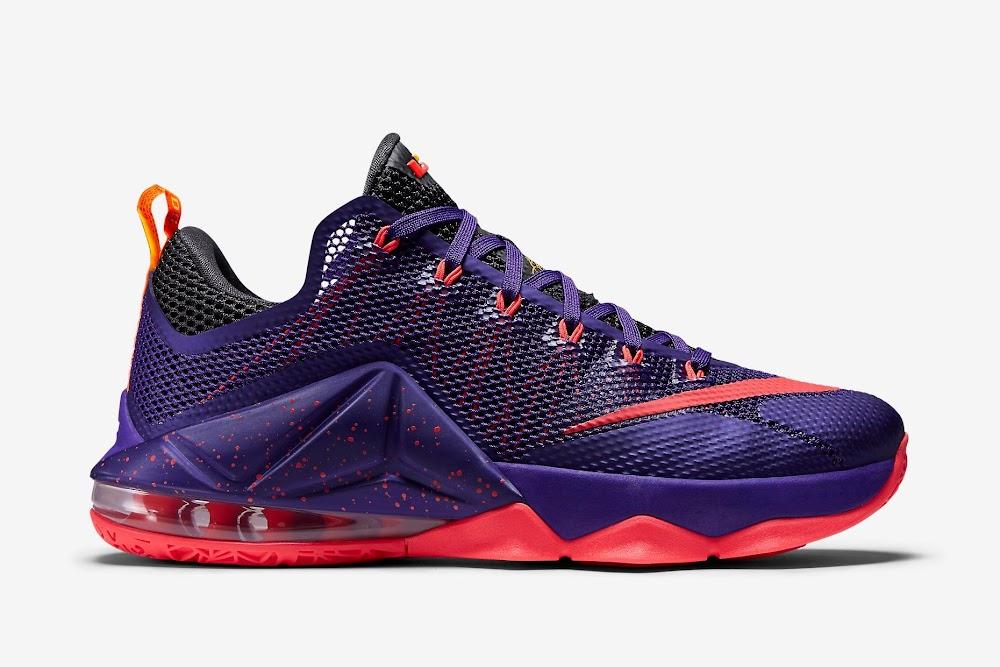 991eff97bba77b ... Nike LeBron 12 Low Court Purple Drops Next Month ...
