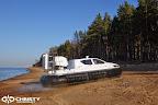 Судно на воздушной подушке Christy 6183 - Ходовые испытания | фото №15