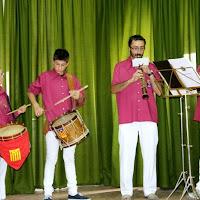 Audició Escola de Gralles i Tabals dels Castellers de Lleida a Alfés  22-06-14 - IMG_2407.JPG