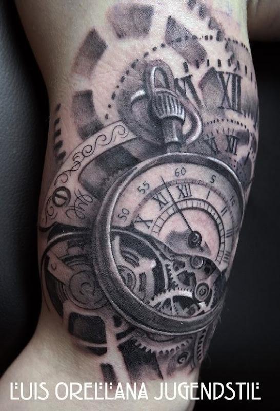 steampunk_relgio_de_bolso_braço_de_tatuagem