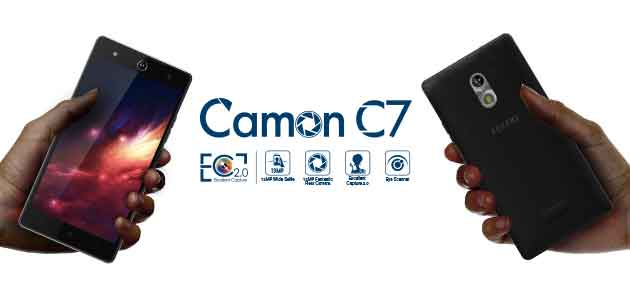 Specification and price of Tecno Camon C7, Android 6.0 with 2GB Ram