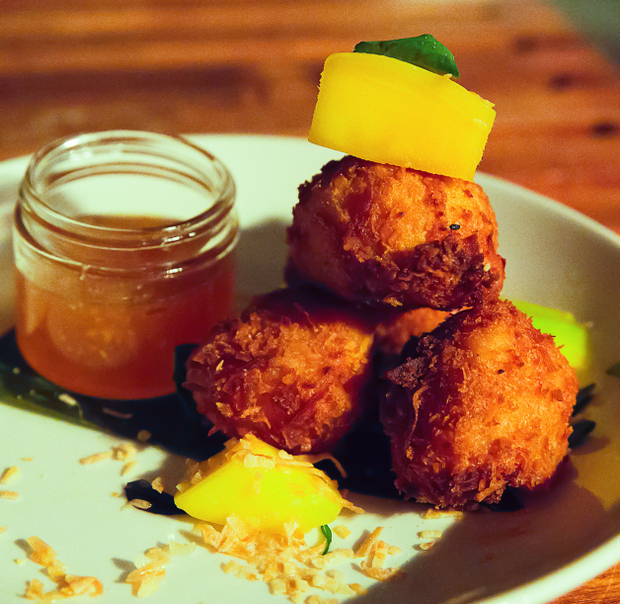 photo of COCONUT SHRIMP CROQUETTES