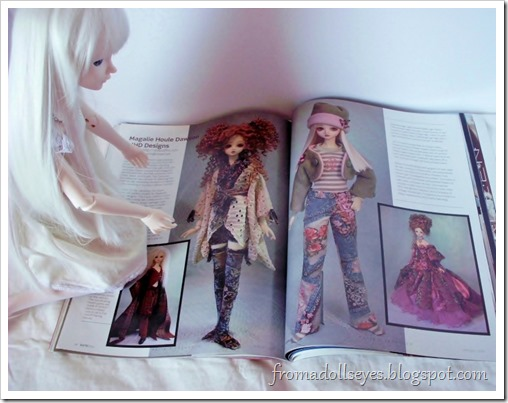 Bjd Lifestyle: Haute Doll Magazine, The Bjd Issue? Looking at the clothes