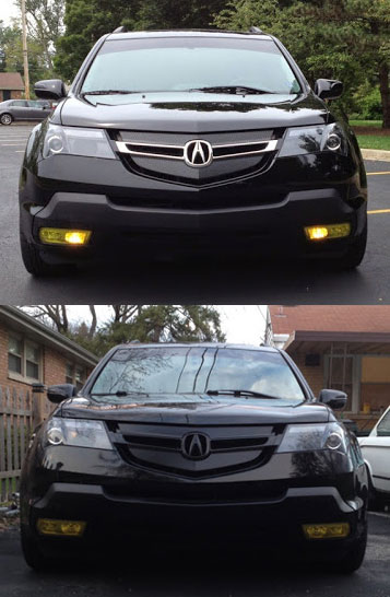 Decided To Change The Front Again Acura MDX Forum Acura MDX - Acura mdx front grill