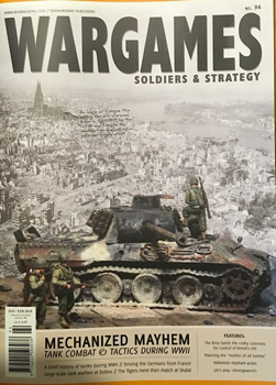 The latest Wargames, Strategy and Soldiers is now out