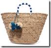 Kayu Pom Pom Embellished Seagrass Tote