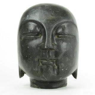 "Buddha Stone 6.5"" Sculpture"