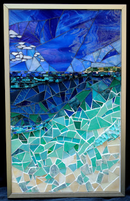 Paradise Mosaic Art by Brenda Pokorny MOW1028