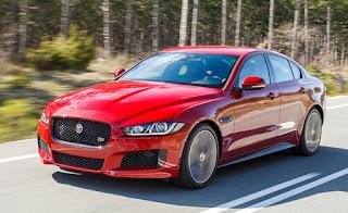 2017 Jaguar XE V8 front