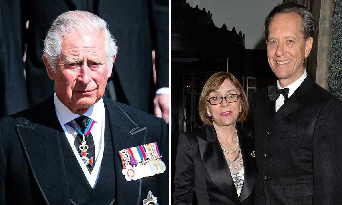 Prince Charles' touching gesture to Richard E Grant's wife before her Death