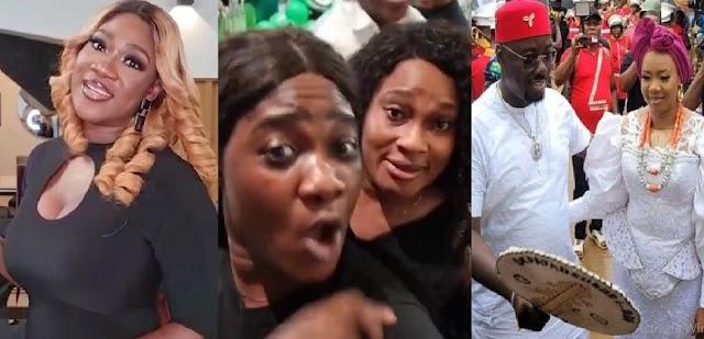 'I'm Just Returning From Oba, I Feel Like Spraying Money Now' – Mercy Johnson [Video]