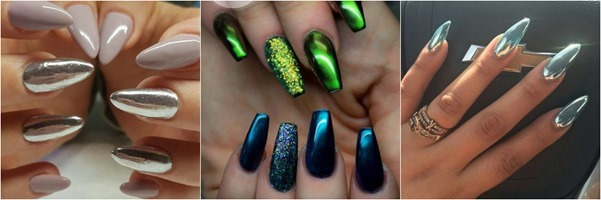 Metallic-Nail-Art - Ideas-Mystylespots -2017