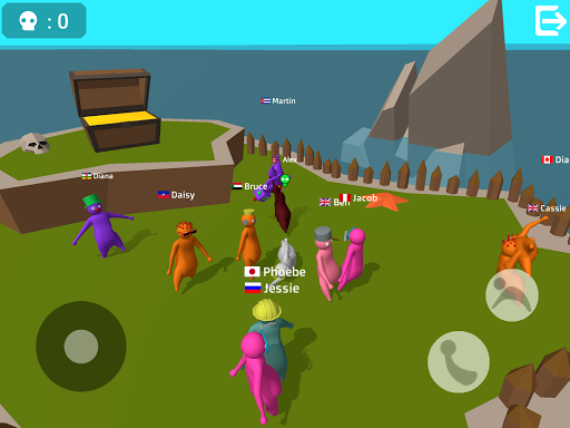 Noodleman.io - Fight Party Games apkpoly screenshots 13