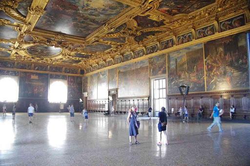Salle du Grand Conseil (palais des Doges).