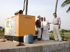 Generator Installation at Tapovan