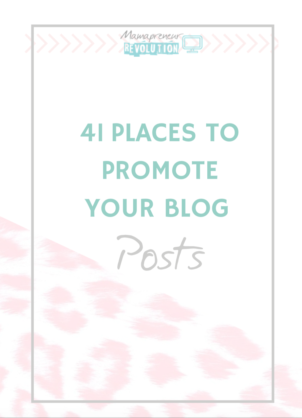 41 places to promote your blog posts