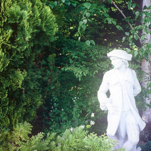 Garden gentleman.
