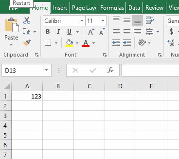 membuat comment pada Excel