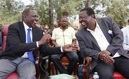 Ruto Asks Raila and Mudavadi  to support him for top seat in 2022 instead of Gideon