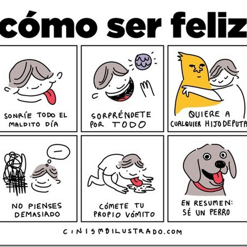 Humor Como ser feliz