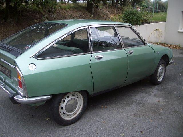 La ptite dernière ! - Citroën GS 1220 Club 1974 GS20