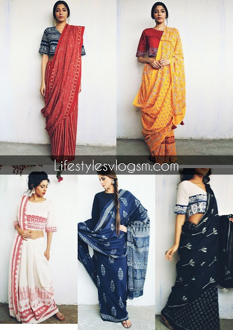 ULTIMATE BLOCK PRINT SAREES FROM THIS BRAND THAT YOU CAN'T RESIST  