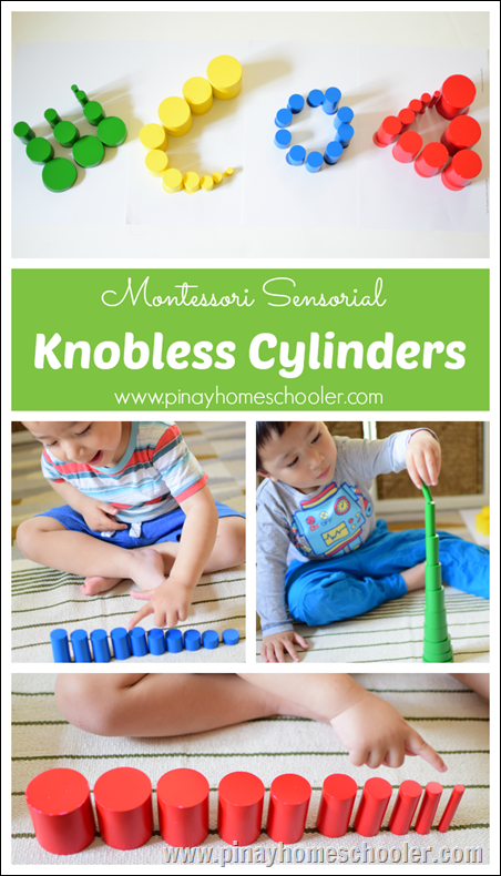Montessori Knobless Cylinders