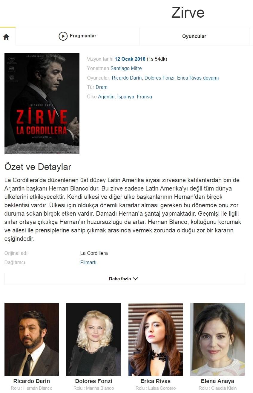 Zirve 2017 - 1080p 720p 480p - Türkçe Dublaj Tek Link indir
