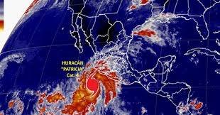 """Huracán Patricia amenaza el Pacífico mexicano con """"consecuencias potencialmente catastróficas"""""""
