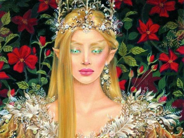 Elf Queen Of Flowers, Elven Girls 2