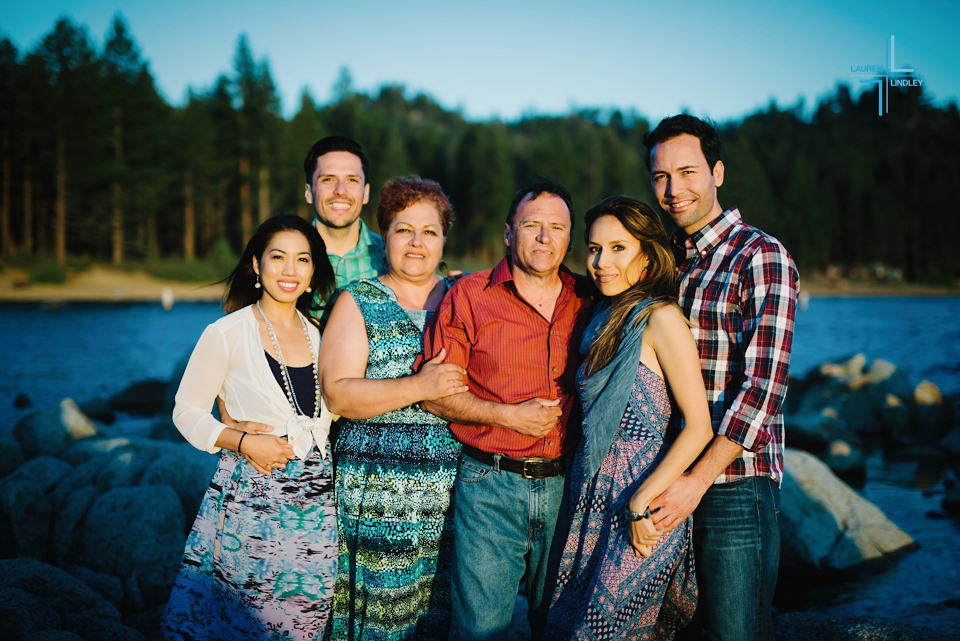Family Portraits in Tahoe