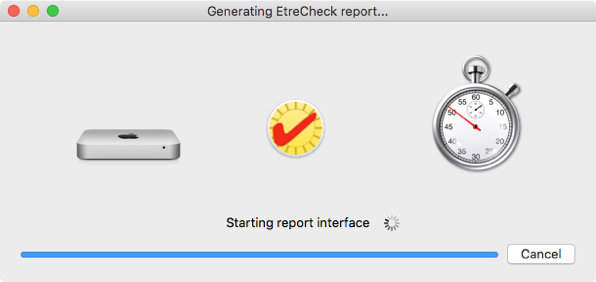 6 Starting reporting interface