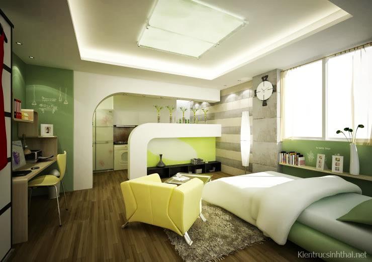 Phòng ngủ nữ tính