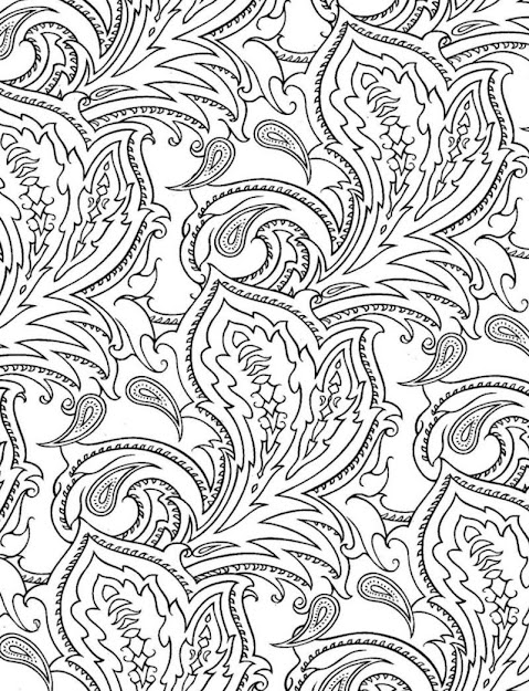 Coloring Sheets Free Printable Paisley Coloring Pages Printable