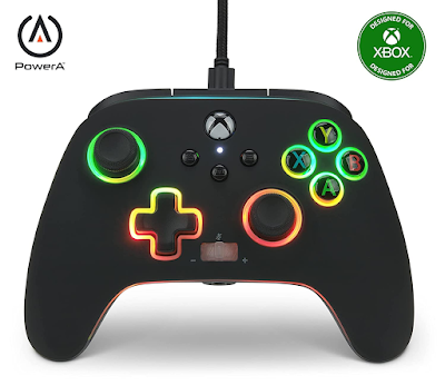 PowerA Spectra Infinity Enhanced Wired Controller for Xbox Series X S, Gamepad, Wired Video Game Controller, Gaming Controller, Xbox One, Officially Licensed - Xbox Series X
