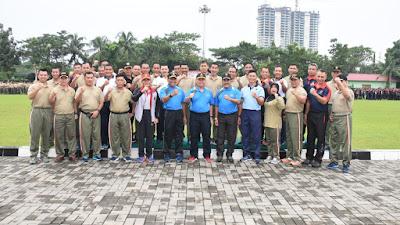 Sambut Hut TNI Ke-72 Ribuan Prajurit TNI/Polri Ramaikan Kodam I/BB