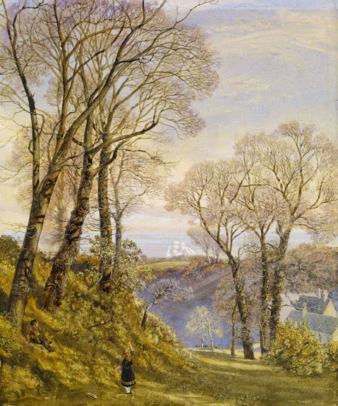 John Edward Brett - February on the Isle of Wight, 1866.