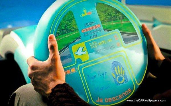 Funny Steering Wheels - Citroen Osmose 2000