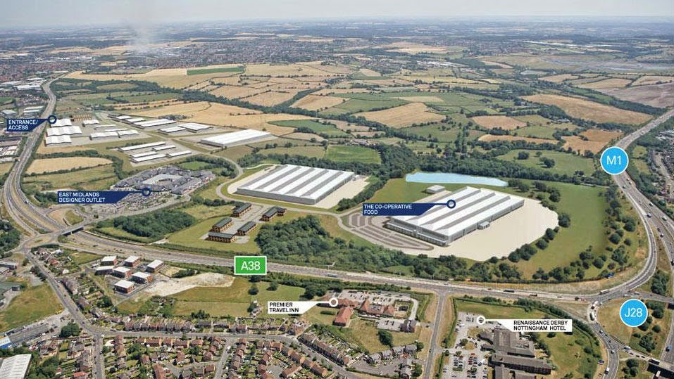 Castlewood Business Park at M1 J28 – ideally located for logistics businesses