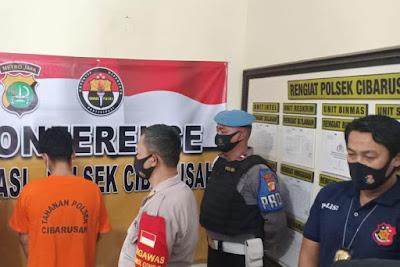 Pembobol Rumsong Berkedok Pemulung Berhasil Diringkus Reskrim Polsek Cibarusah