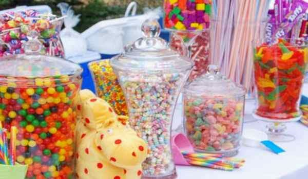 Hermosos tarros de cristal para dulces