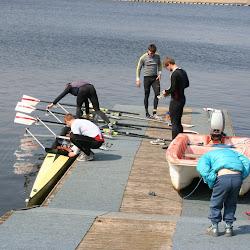 Åbent Hus 21/4-2012 og besøg af landsholdsroere