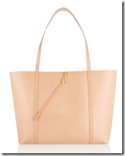 Kara Tie Leather Tote