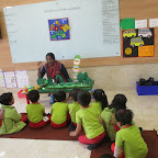 INTRODUCTION TO CATERPILLER & BUTTERFLY FOR NURSERY AT WITTY WORLD (03.03.2017)