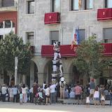 Actuació Castellera Festa Major'16  - C. Navarro GFM