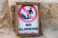 no climbing in Egypt