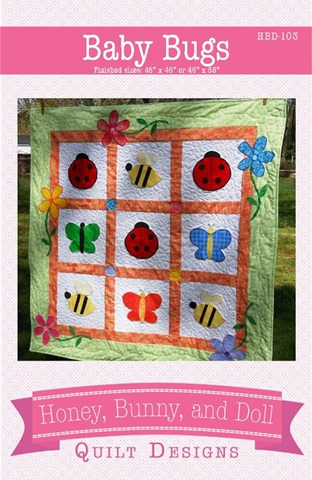 baby bugs quilt