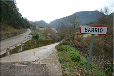 Barrio, fin de la circular