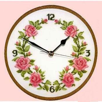 Rose clock chart